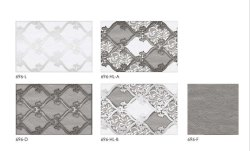 Ceramic 696 Bathroom Wall Tiles, Thickness: 5-10 mm