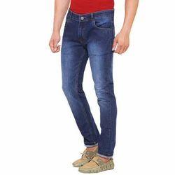 Blue Cotton Jeans