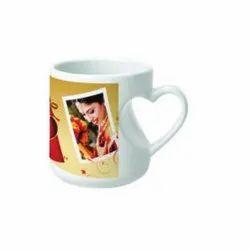 Inside Heart White Mug