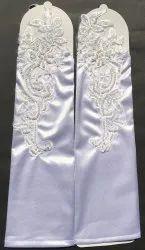 Women's Satin Mittens Glove