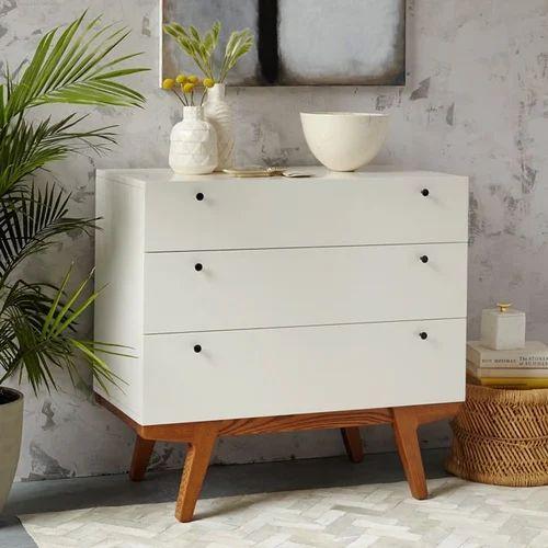 White Scandinavian Dresser