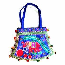Floral Handicraft Handbag