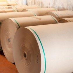 Plain 80 GSM Brown Kraft Paper Roll