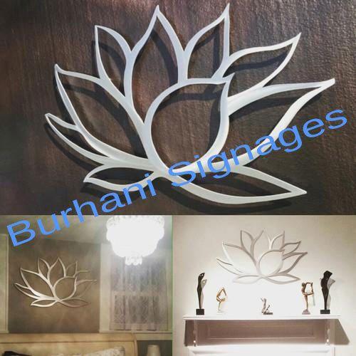 Manufacturer of Laser Cut Arts & Acrylic Clocks by Burhani