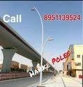 Conical Cobra Type Street Light Pole