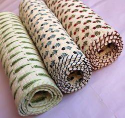 Designer Cotton Baby Quilt