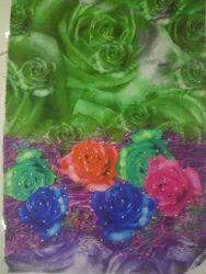Satin Print Fabric