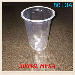 300 ml Disposable Glass
