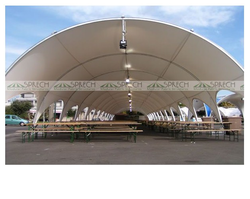 Arco Tunnel Coated Tent, For Event & Exhibition