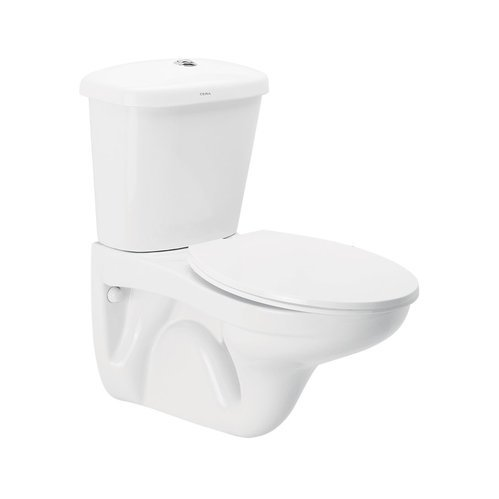 Cera White Callaghan Twin Flush Toilet Rs 8310 Piece