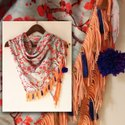 Blend Pashmina Trendy Digital Printed Scarf Fabric, Gsm: 50-100