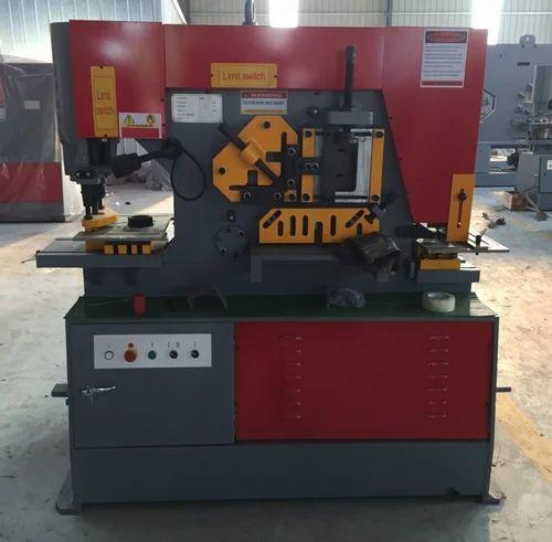 Semi Automatic Optimum Iron Worker Machine Capacity 65ton
