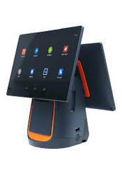 Grey Black Orange Sunmi T1 Android Touch POS Machine, Memory Size: 1gb, Screen Size: 14'