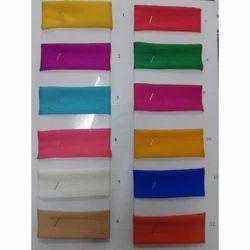 Satin Chiffon Dyed Fabrics