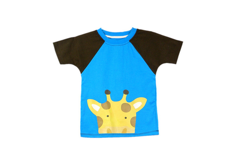 3fda7e56a251 Ssmitn Animal Print T Shirt For Boys, Children Printed T-Shirts ...