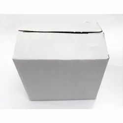 3 Ply White Packaging Corrugated Box 5.5x4x4.75 inches
