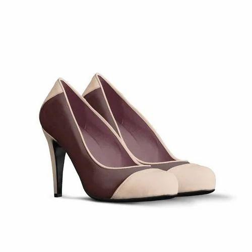 04e8076c6f9 Kamlesh Enterprises Stylish Brown High Heels Sandals