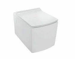 Rimless KUS-WHT-35953 Wall Hung WC