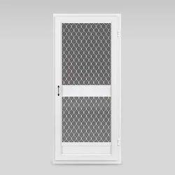 White Aluminium Storm Door, For Home