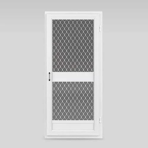 White Aluminium Storm Door, For Home
