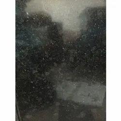 Polished R Black Granite Slab, Thickness: 16.5 mm