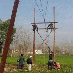 Construction of Overhead Line Service