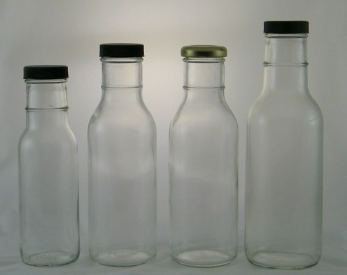 Glass Bottles, for Beverage