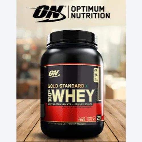 On Protein Powder Gold Standard Whey Protein Powder Double Rich Chocolate Wholesale Trader From Pune