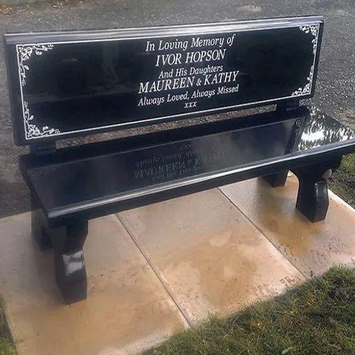 Excellent Granite Memorial Bench Ibusinesslaw Wood Chair Design Ideas Ibusinesslaworg