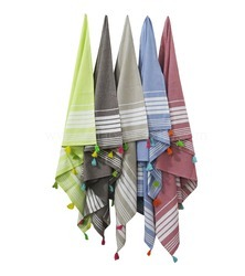Tassel Turkish Towel Beach Towels