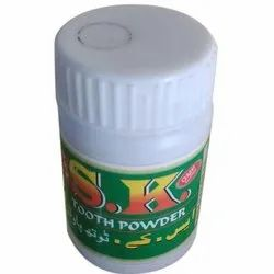 S K SK Tooth Powder, For Weight Loss, Packaging Size: 50 Gm