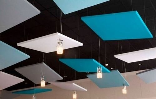 Soundproof Acoustic Solution Sound Proofing Ceiling Tiles For Diffusers And Noise Barriers
