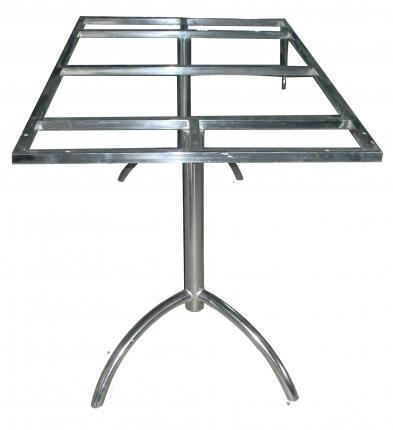 Stainless Steel Dining Table Frame Shree Sai Furniture