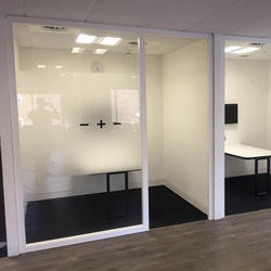 Soundproof Office Partition At Rs 160 /square Feet | Aluminium Office  Partition   SRB Flooring U0026 Interior, Coimbatore | ID: 18910764255