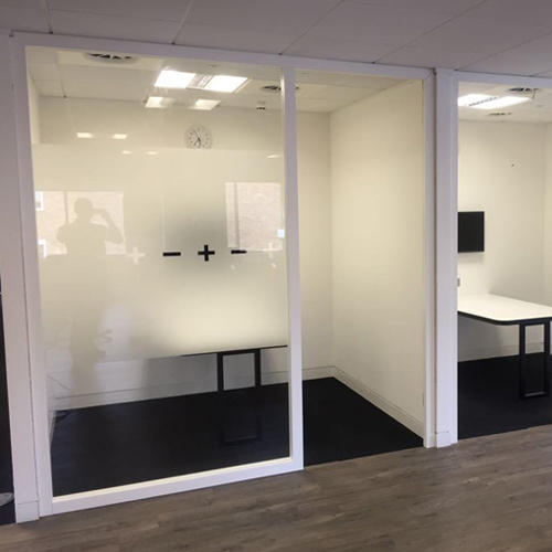 Soundproof Office Partition