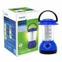 Plastic Cool White Philips Ujjwal Mini 16-led Lantern (dark Blue)), 4 W