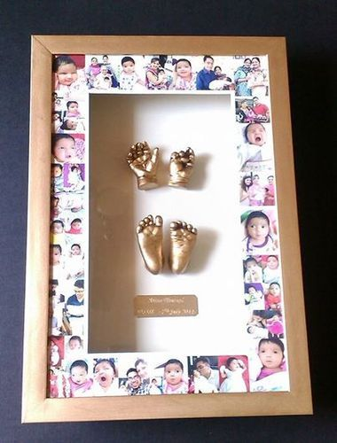 Baby Hand Footprint Collage Frame Hand Prints New Delhi Id