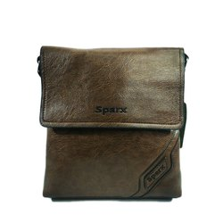 Leather Brown Tablet Shoulder Bag