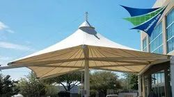 Waterproof Prefab Tensile Fabric Structures
