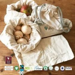 Biodegradable Cotton Produce Bag