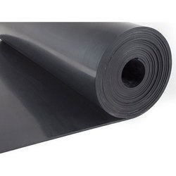 Black Electrical Safety Rubber Mat