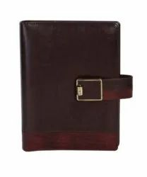 Branded Premium Leather Look Diary