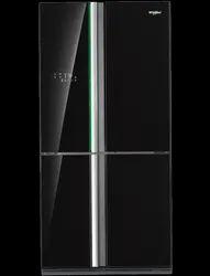 Whirlpool Carbon Black 678 L French Door Bottom Mount Refrigerator