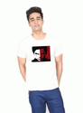 M And L Party Wear And Festive Wear Dexter Tv Series White Boys T Shirt