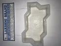 Interlocking Plastic Moulds Zig Zag 60mm
