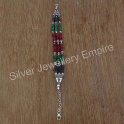 Sapphire Gemstone Fancy Bracelet