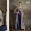 Designer Tapeta Silk Gown