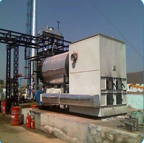 Mild Steel Carbon Fiber FBC Thermic Fluid Heater