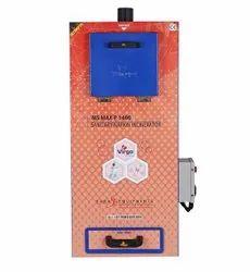 Sanitary Napkin Burner MSMAXP 1400
