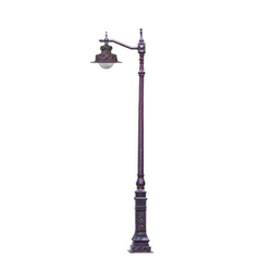 Antique Decorative Cast Iron Lamp Pole